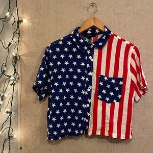 AMERICAN FLAG TOP🇺🇸